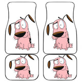 Courage The Cowardly Dog Cartoon Network Car Floor Mats 191021