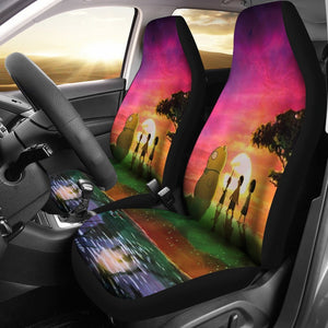 Bobs Buger Looking Sunrise Car Seat Covers 191126