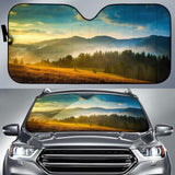 Beautiful Landscape Car Sun Shades Auto
