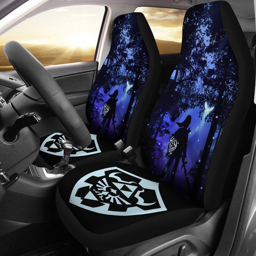 Legend Of Zelda Breath The Wild Anime Car Seat Covers 8