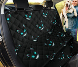 Cat Creepy Blue Eyes Pet Seat Cover