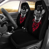Pugdog Funny Animal Car Seat Covers