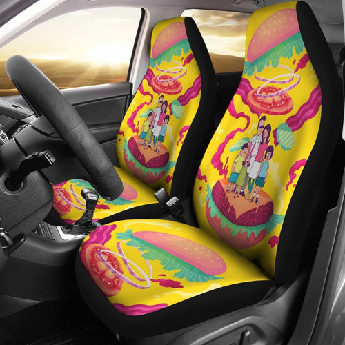 Bobs Burgers In World Car Seat Covers 191126
