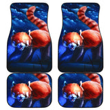 Red Mink Moutain Japan Animal Car Floor Mats 191030
