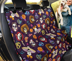 Coco Pattern Pet Seat Cover