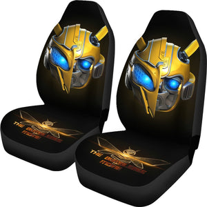 Bumblebee Transformer Car Seat Covers
