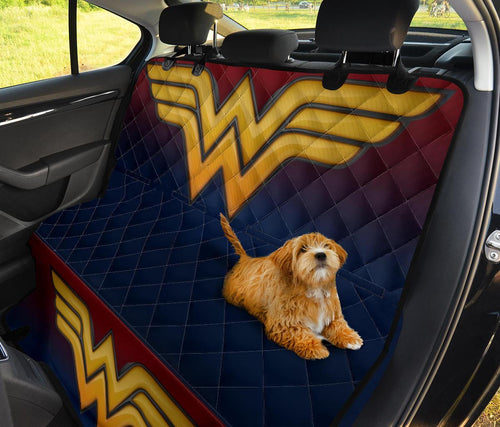 Wonder Woman Pet Seat Cover Pet Seat Cover