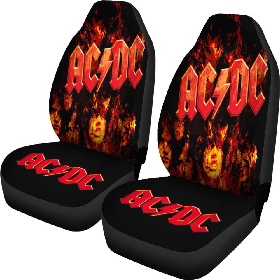 Ac Dc Rock Music Band Car Seat Covers 2