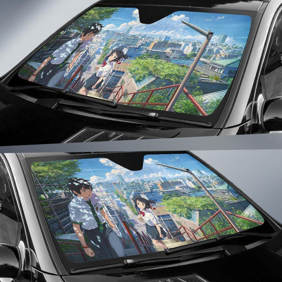 Your Name Auto Sun Shades