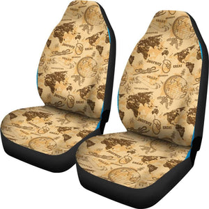 World Atlas Car Seat Covers Amazing Gift Ideas T032120