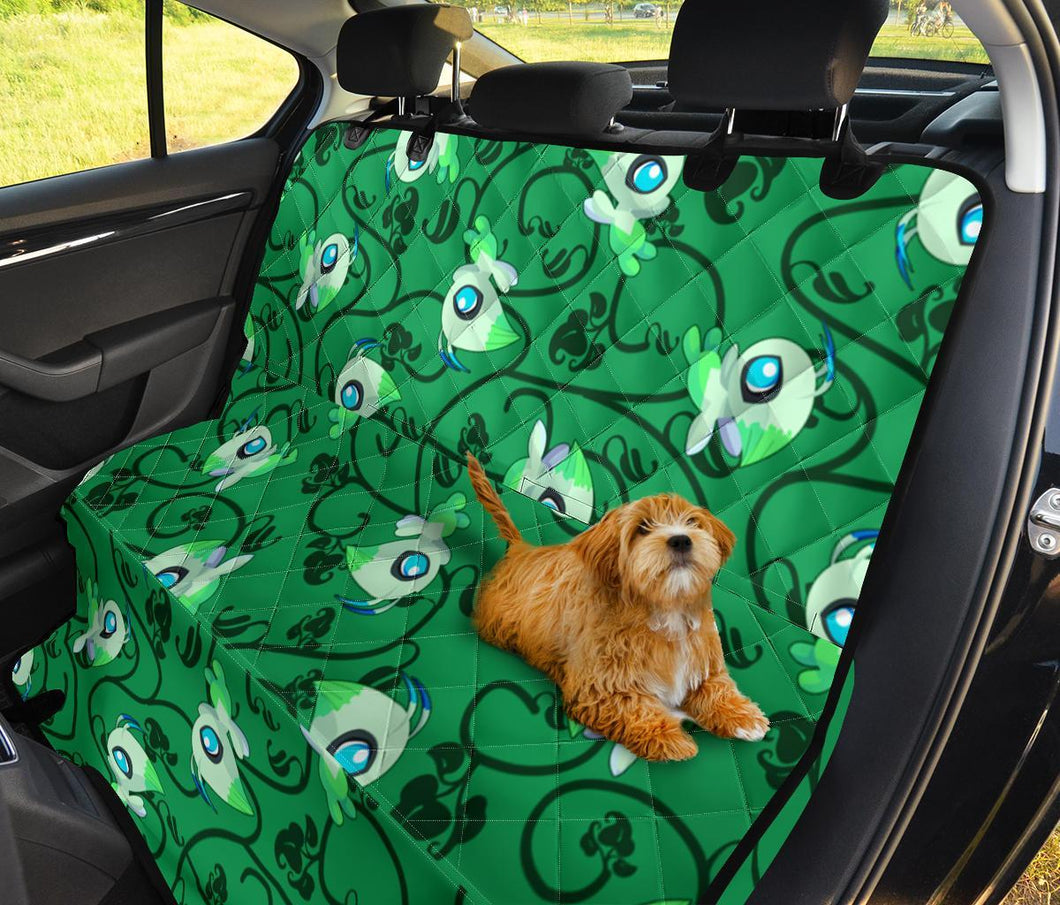 Celebi Green Pokemon Pet Seat Cover