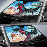 Spider Man Iron Car Sun Shades Auto Sun Shades