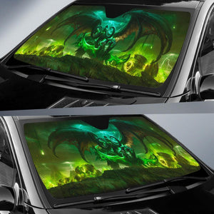Warcraft Demon Hunter Car Sun Shades Auto
