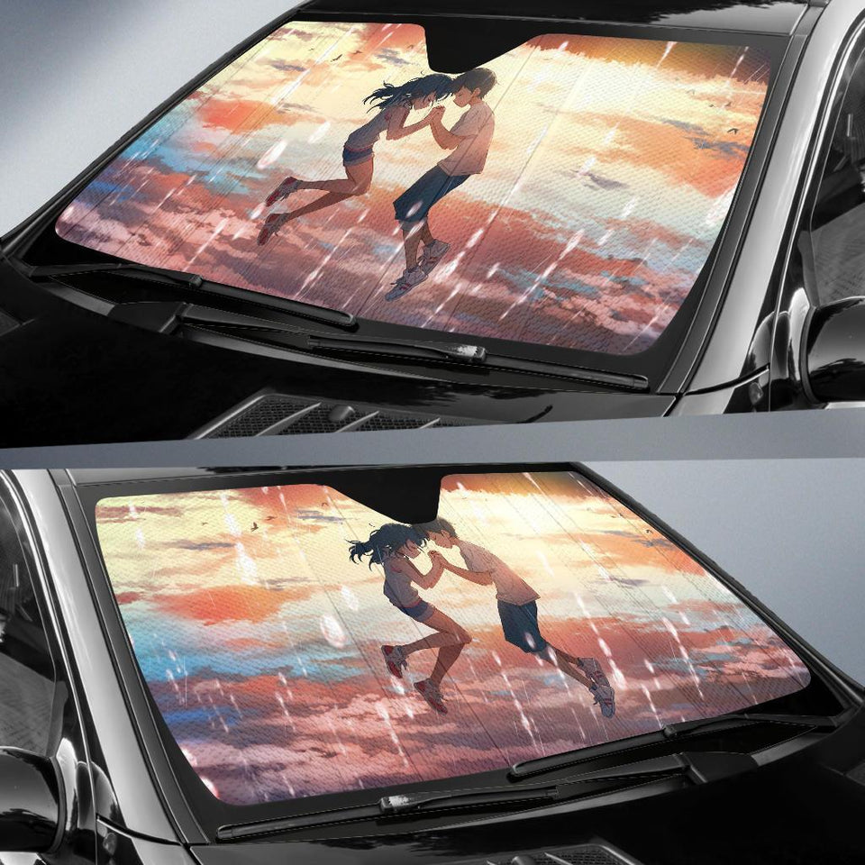 Weathering With You Anime Auto Sun Shade Shades