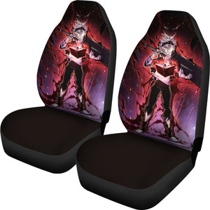 Black Clover Yuno Demon Car Seat Covers