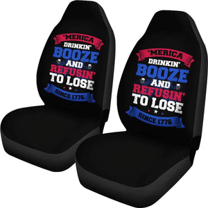 Merica Car Seat Covers Amazing Gift Ideas T040720