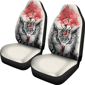 Owl Spring Face Animal Car Seat Covers