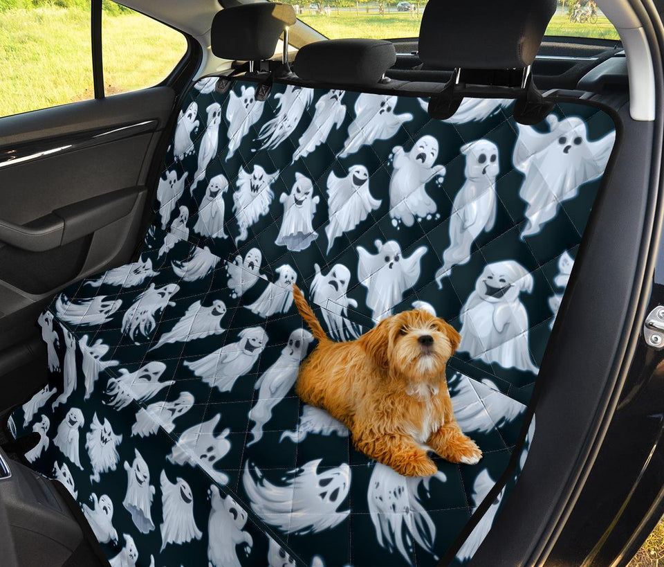 Funny Ghost Pet Seat Cover