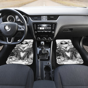 Jack Nightmare Before Christmas Car Floor Mats Cartoon H0115