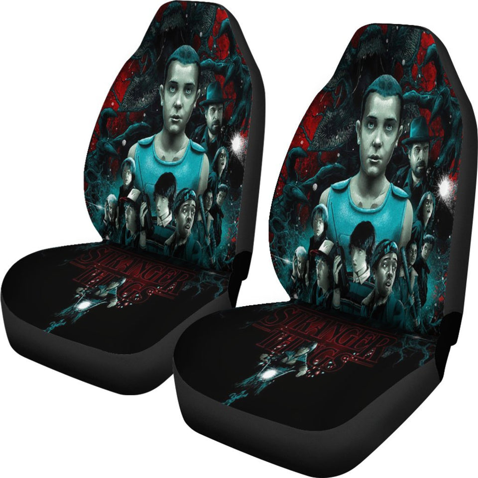 Stranger Things Movie Fan Gift Car Seat Covers T1227