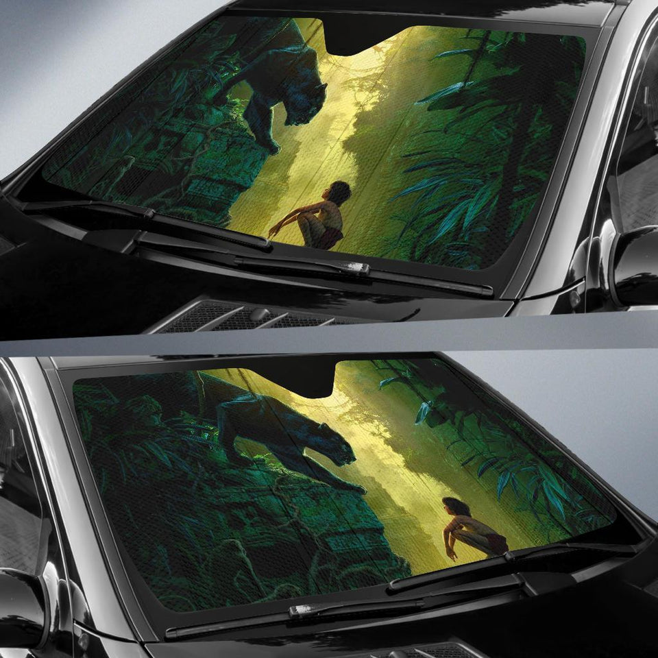 The Jungle Book Auto Sun Shades