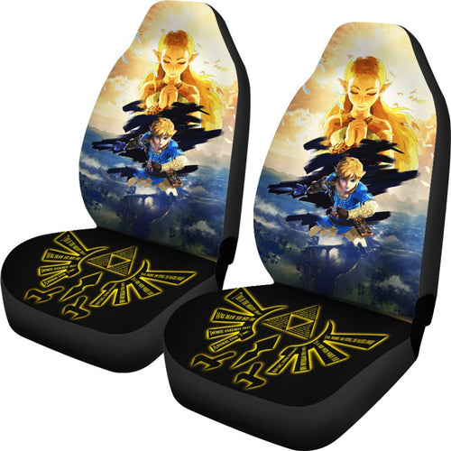 Legend Of Zelda Breath of the Wild Car Seat Covers - Amazing best gift ideas 2021