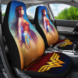 Wonder Woman Anime Car Seat Covers