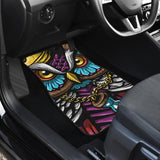 Owl Thug Life Wild Animal Car Floor Mats 191029