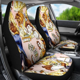 Belle Princess Cartoon Car Seat Covers T0105