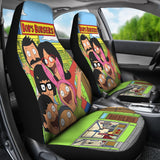 Animated Sitcom Car Seat Covers Bobs Burgers Fan Gift T1227