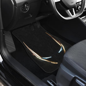 Iron Man Head End Game Marvel In Black Theme Car Floor Mats 191023