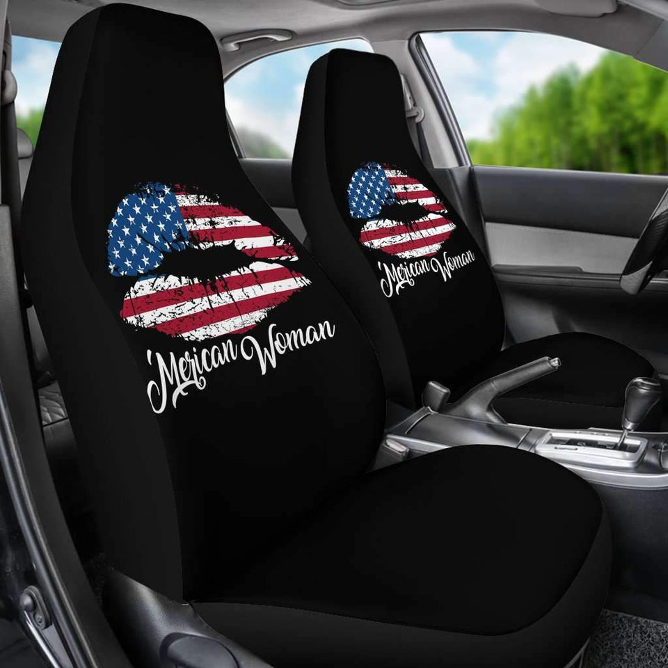 Merican Woman Car Seat Covers Amazing Gift Ideas T040720