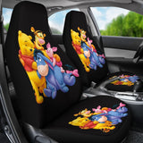 Pooh And Friends Cartoon Car Seat Covers