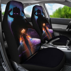 Galactus Vs Captain Marvel Car Seat Covers