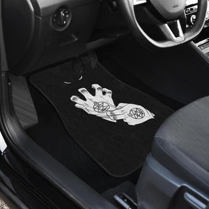 Full Metal Alchemist Brotherhood Fire Element Car Floor Mats 191022