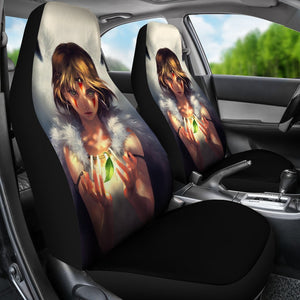 Princess Mononoke Anime Car Seat Covers