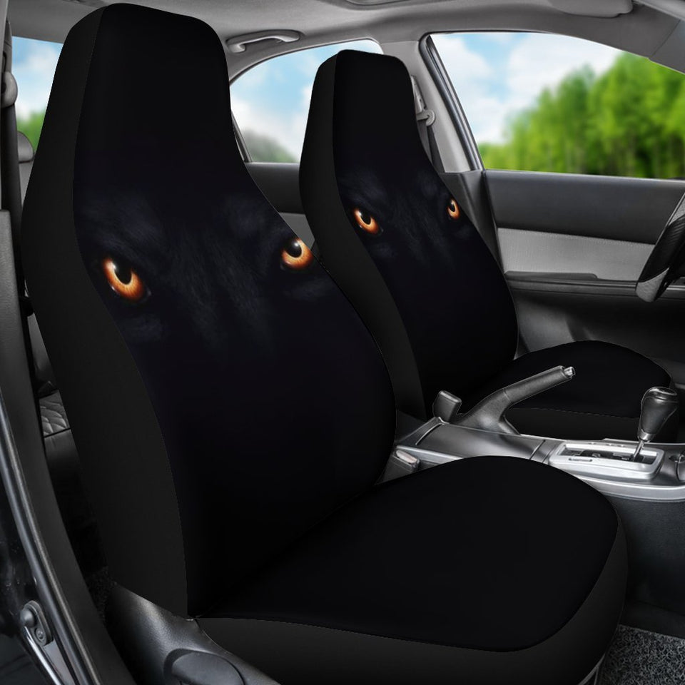 Wolf Eyes Animal Car Seat Covers
