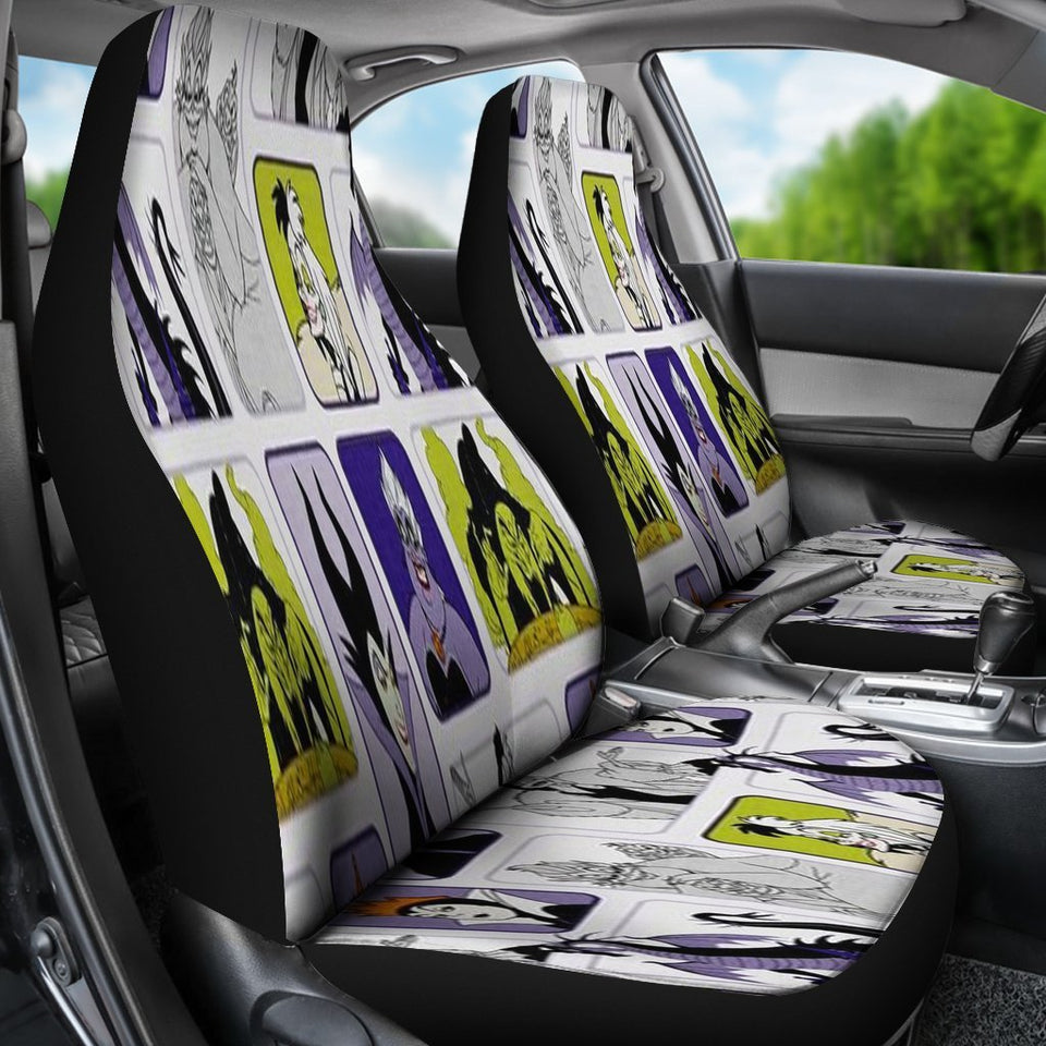 Car Seat Covers Disney Villains K1222 Car Seat Covers