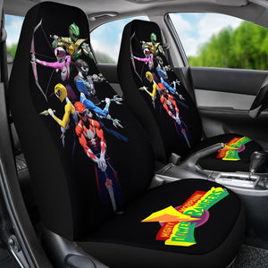Mighty Morphin Power Rangers Car Seat Covers