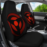 Kakashi Magekyo Sharingan Naruto Car Seat Covers