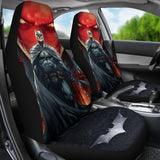 Batman Under The Red Hood Car Seat Covers