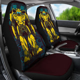 Bumblebee Robot Transformer Car Seat Covers