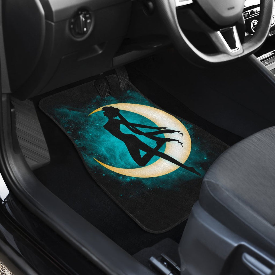 Sailor Moon Transform In Dark Theme Car Floor Mats 191030