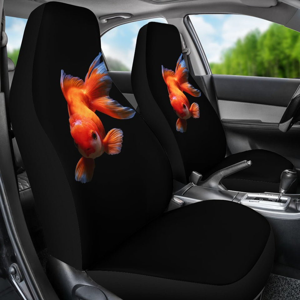 Golden Fish 3D Animal Car Seat Covers