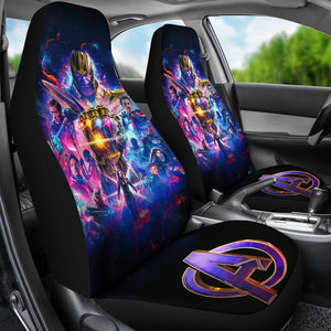 Avengers Endgame Mavel Car Seat Covers