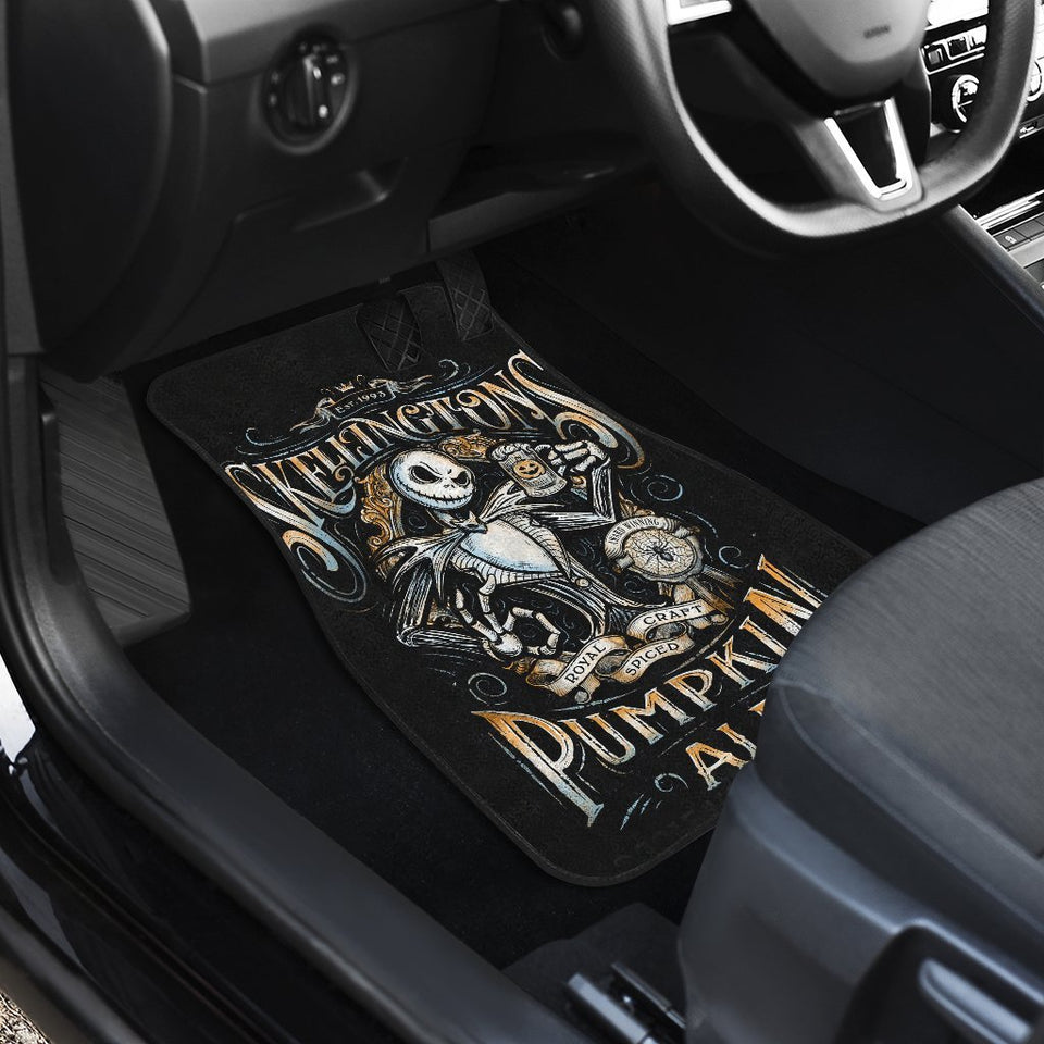 Jack And Sally Nightmare Before Christmas Walt Disney Car Floor Mats 191023