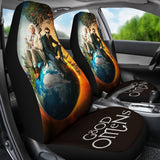 Good Omens Car Seat Cover Covers
