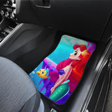 Ariel A Little Mermaid Cartoon Funny Gift For Fan Car Floor Mats 191017