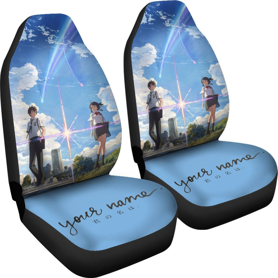Your Name Anime Car Seat Covers
