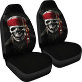 Pirates Of The Caribbean Skull Car Seat Covers